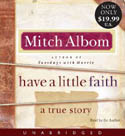 Have a Little Faith AudioBook CD-Mitch Albom