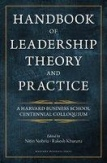 Handbook of Theory and Practice-Nitin Nohria