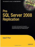 Pro SQL Server 2008 Replication-Sujoy Paul