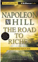 Napoleon Hill The Road to Riches 13 Keys to Success AudioBook CD-Greg S Reid, Napoleon Hill