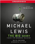 The Big Short Inside the Doomsday Machine AudioBook CD-Jesse Boggs, Michael Lewis