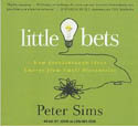 Little Bets How Breakthrough Ideas Emerge from Small Discoveries AudioBook CD-John Allen Nelson, Peter Sims