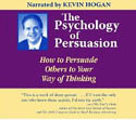 The Psychology of Persuasion How to Persuade Others to Your Way of Thinking AudioBook CD-Kevin Hogan