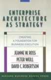 Enterprise Architecture as Strategy Creating a Foundation for Business Execution-David C Robertson, Jeanne W Ross, Peter Weill