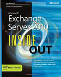 Microsoft Exchange Server 2010 Inside Out-Tony Redmond