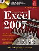 Microsoft Excel 2007 Bible w-cd-John Walkenbach