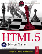HTML5 24 Hour Trainer-Joseph W Lowery, Mark Fletcher