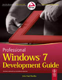 Professional Windows 7 Development Guide-John Paul Mueller