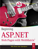 Beginning ASP.NET Web Pages with WebMatrix-Imar Spaanjaars, Mike Brind