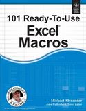101 Ready To Use Excel Macros-John Walkenbach, Michael Alexander