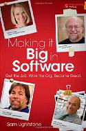 Making it Big in Software Get the Job Work the Org Become Great-Sam Lightstone