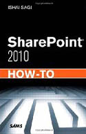 SharePoint 2010 How To-Ishai Sagi