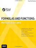 Formulas and Functions Microsoft Excel 2010-Paul McFedries