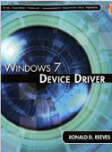 Windows 7 Device Driver-Ronald D Reeves