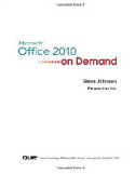 Microsoft Office 2010 On Demand-Steve Johnson