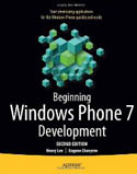 Beginning Windows Phone 7 Development 2nd edition-Eugene Chuvyrov, Henry Lee