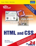 Sams Teach Yourself HTML and CSS in 24 Hours-Michael Morrison, Dick Oliver