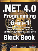 .Net 4.0 Programming 6-in-1 Black Book-Kogent