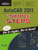 Autocad 2011 in Simple Steps-Kogent