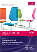 CIMA Official Study Text Fundamentals of Management Accounting Paper C01 2011-2012 Edition-Cima