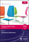 CIMA Official Study Text Enterprise Operations Paper E1 2011-2012 Edition-Cima