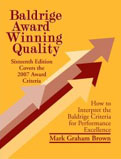Baldrige Award Winning Quality 16th Edition How to Interpret the Baldrige Criteria for Performance Excellence-Mark Graham Brown