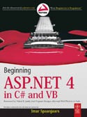 Beginning ASP.NET 4 in C# and VB-Imar Spaanjaars