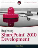 Beginning SharePoint 2010 Development-Steve Fox