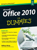 Office 2010 For Dummies-Wallace Wang