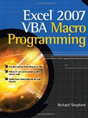 Excel 2007 VBA Macro Programming-Richard Shepherd