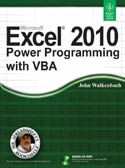 Excel 2010 Power Programming with VBA w-cd-John Walkenbach