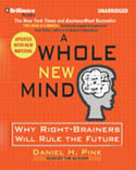 A Whole New Mind AudioBook CD-Daniel H Pink