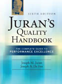 Jurans Quality Handbook The Complete Guide to Performance Excellence 6-E-JM Juran, Joseph Defeo