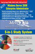 MCITP 5 in 1 Study System Exams 70-640 70-642 70-643 70-620 70-647 w-cd-Kogent