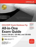 OCA/OCP Oracle Database 11g All-in-One Exam Guide 1Z0-051 1Z0-052 1Z0-053 w-cd-Bob Bryla, John Watson), Roopesh Ramklass