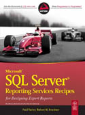 Microsoft SQL Server Reporting Services Recipes for Designing Expert Reports-Paul Turley, Robert M Bruckner