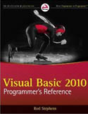 Visual Basic 2010 Programmers Reference-Rod Stephens