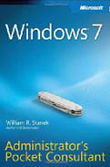 Windows 7 Administrators Pocket Consultant-William R Stanek